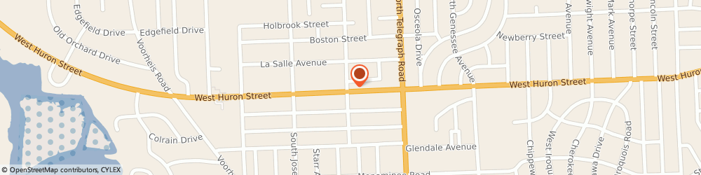 Route/map/directions to PNC Bank, 48328 Waterford, 994 W Huron St