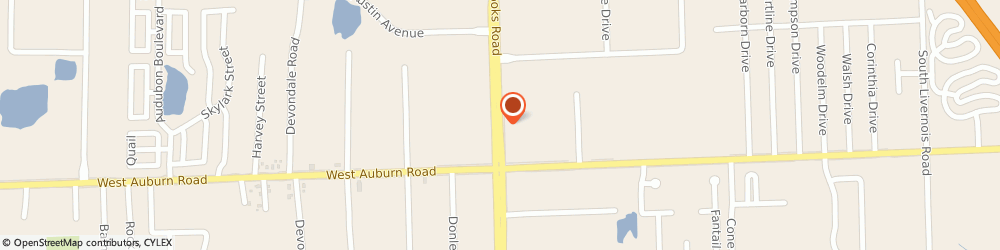 Route/map/directions to Little Caesars Pizza, 48309 Rochester Hills, 2921 Crooks Rd.