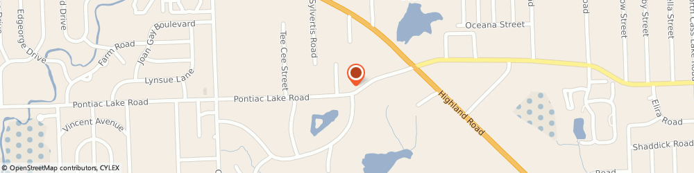 Route/map/directions to Navy Federal Credit Union ATM, 48328 Waterford, 4594 Pontiac Lake Rd