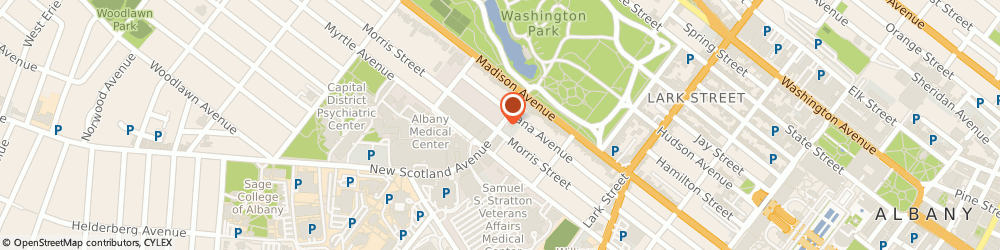 Route/map/directions to Bank of America, 12208 Albany, 25 NEW SCOTLAND AVE