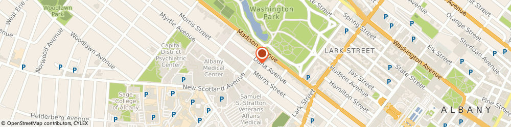 Route/map/directions to H&R Block, 12208 Albany, 10 New Scotland Ave