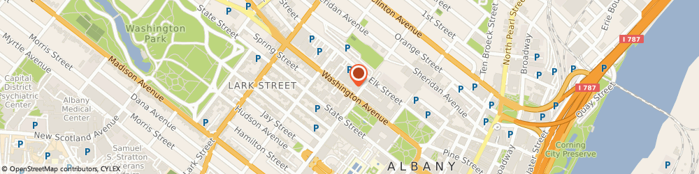 Route/map/directions to Bank of America, 12260 Albany, 99 WASHINGTON AVE