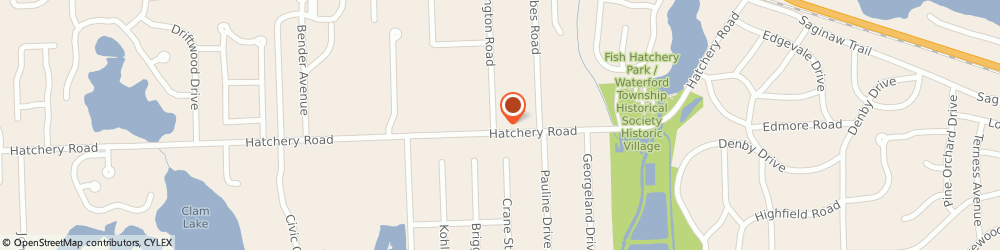 Route/map/directions to Citibank ATM, 48329 Waterford Township, 4850 Hatchery Rd