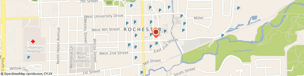 Route/map/directions to ReMax Connie LaBarge Thomas, 48309 Rochester, 125 E Third St