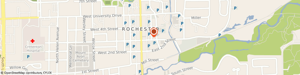 Route/map/directions to RE/MAX Rochester, 48309 Rochester, 125 E Third St