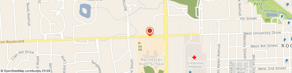 Route/map/directions to ANYTIME FITNESS Rochester Hills, 48309 Rochester Hills, 1390 Walton Blvd