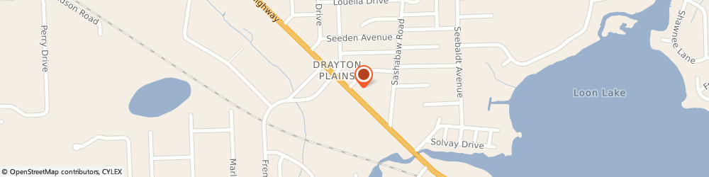 Route/map/directions to Navy Federal Credit Union ATM, 48329 Waterford Township, 4416 Dixie Hwy