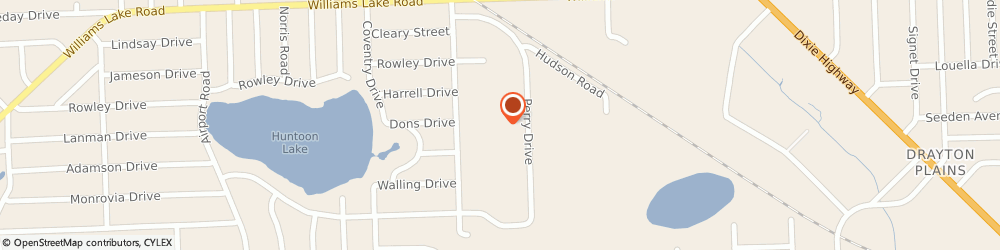 Route/map/directions to Signs Now Waterford, 48329 Waterford, 5425 Perry Drive