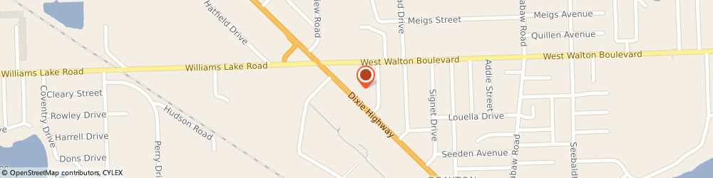 Route/map/directions to Navy Federal Credit Union ATM, 48329 Waterford Township, 4770 Dixie Hwy