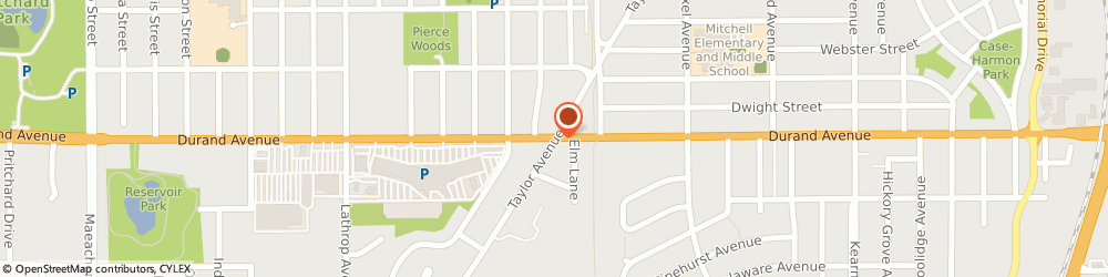 Route/map/directions to Kiernan Heating & Air Conditioning Incorporated, 53405 Racine, 3210 DURAND AVENUE