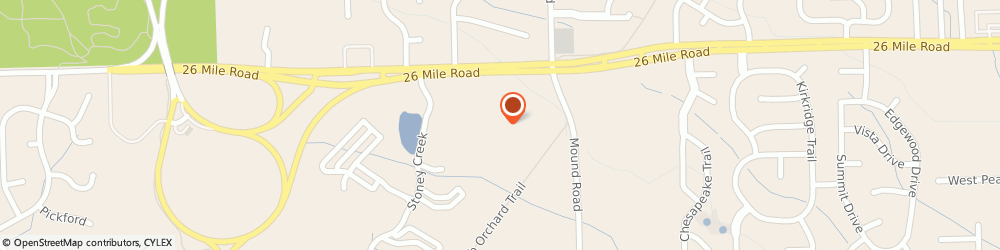 Route/map/directions to CITIBANK ATM, 48316 Shelby Township, 7601 23 Mile Rd