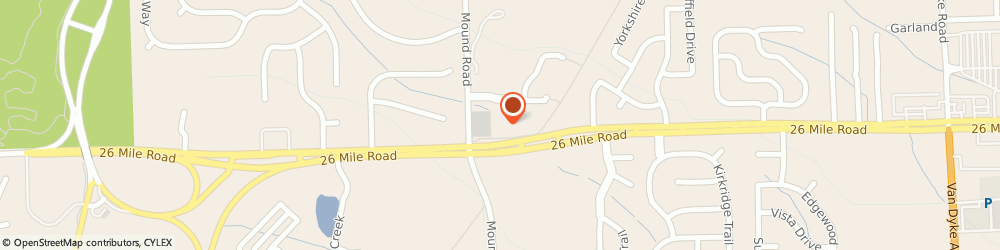 Route/map/directions to Navy Federal Credit Union ATM, 48094 Township Of Washington, 5979 26 Mile Rd