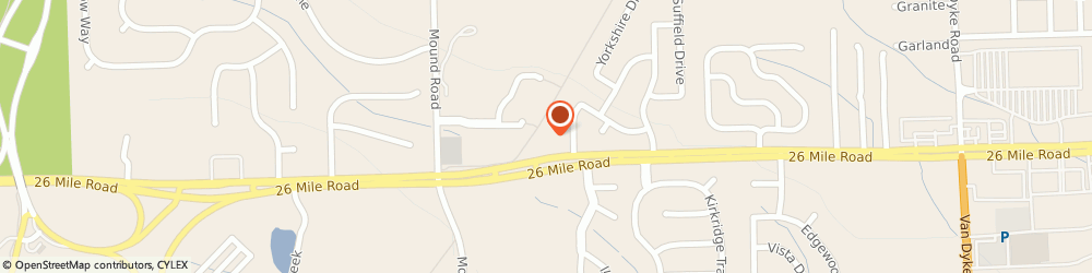 Route/map/directions to Farmers Insurance - Joann Han, 48094 Washington, 6303 26 Mile Rd
