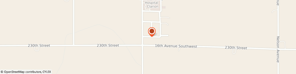 Route/map/directions to North Iowa Appraisal, 50525 Clarion, 206 15th Avenue SW