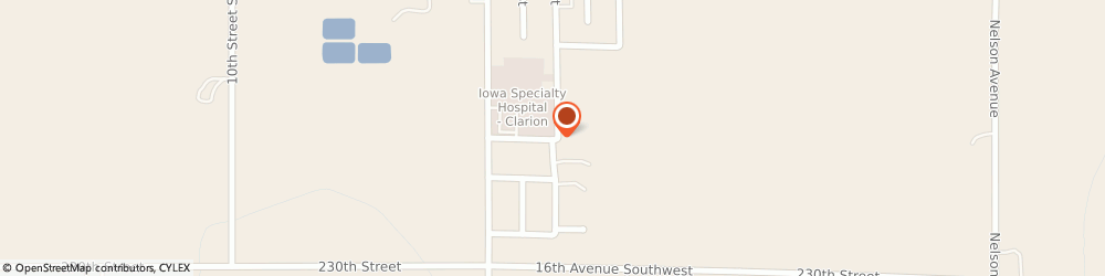 Route/map/directions to Wright Medical Center Specialty Clinic, 50525 Clarion, 1316 SOUTH MAIN STREET
