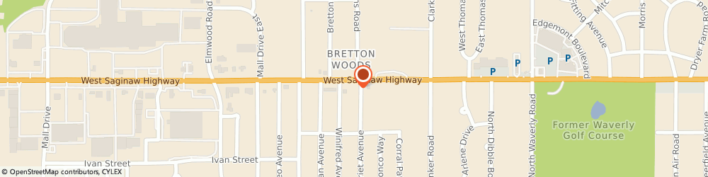 Route/map/directions to KFC, 48917 Lansing, 4509 W. Saginaw Hwy