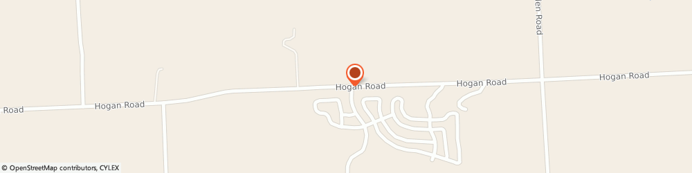 Route/map/directions to Tyrone Woods Manufactured Home, 48430 Fenton, 8378 Hogan Rd