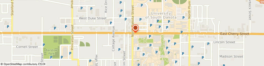 Route/map/directions to American Express Financial Advisors Incorporated, 57069 Vermillion, 102 EAST CHERRY STREET