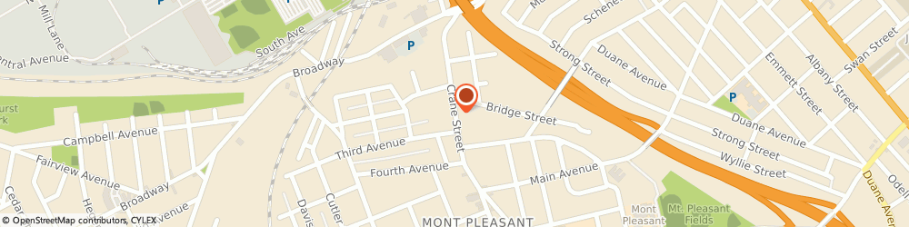 Route/map/directions to Leszczynski Funeral Home - Branch, 12303 Schenectady, 716 CRANE STREET