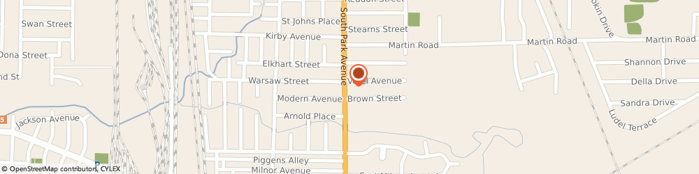 Route/map/directions to Pat McCusker's Taxes & Bookkeeping Inc, 14218 Buffalo, 3144 South Park Avenue