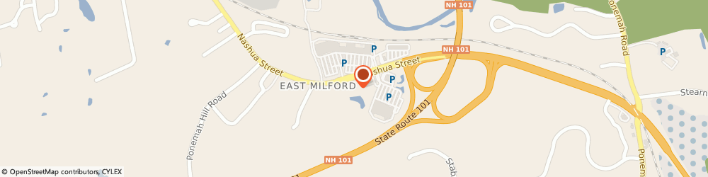 Route/map/directions to Citizens Bank ATM, 03055 Milford, Cumberland Farms, 583 Nashua Street