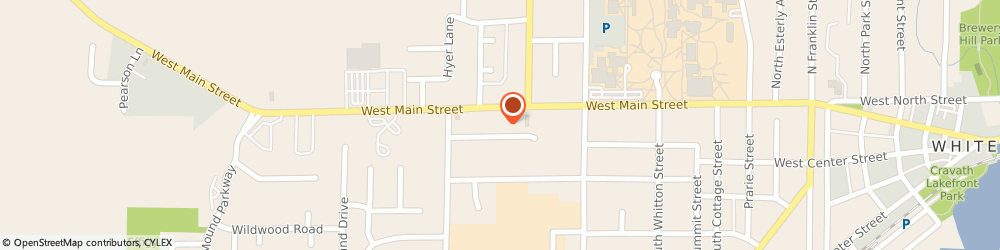 Route/map/directions to Domino's Pizza, 53190 Whitewater, 1139 W  Main St