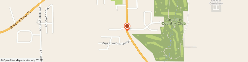 Route/map/directions to McDonald's, 53813 Lancaster, 120 W Alona Ln