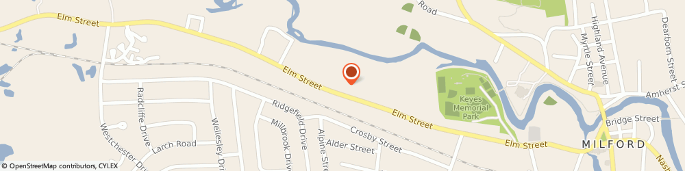 Route/map/directions to Citizens Bank, 03055 Milford, 173 Elm St