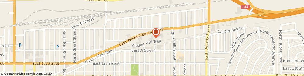 Route/map/directions to Glass Doctor of Casper, 82601 Casper, 1415 E Yellowstone Hwy