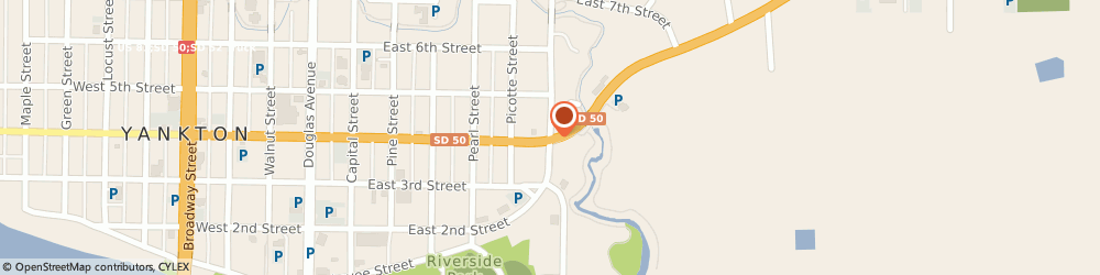 Route/map/directions to Navy Federal Credit Union, 57078 Yankton, 700 E 4Th St