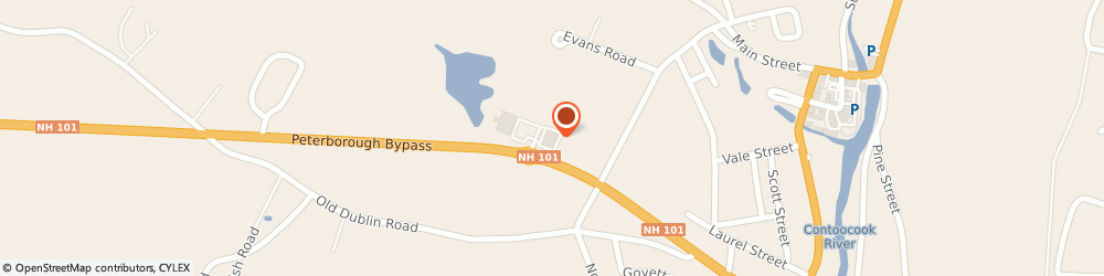 Route/map/directions to Santander Bank ATM, 03458 Peterborough, 125 Dublin Rd