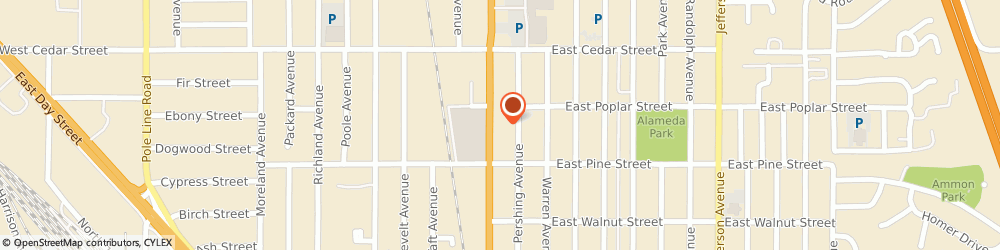 Route/map/directions to Papa Murphy's, 83201 Pocatello, 540 Yellowstone Avenue