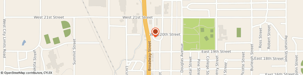 Route/map/directions to Wells Fargo YANKTON, 57078 Yankton, 1920 Broadway Ave