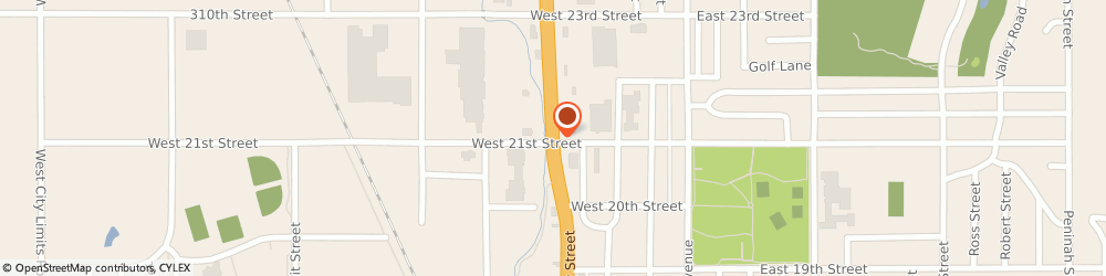 Route/map/directions to Navy Federal Credit Union, 57078 Yankton, 2105 Broadway