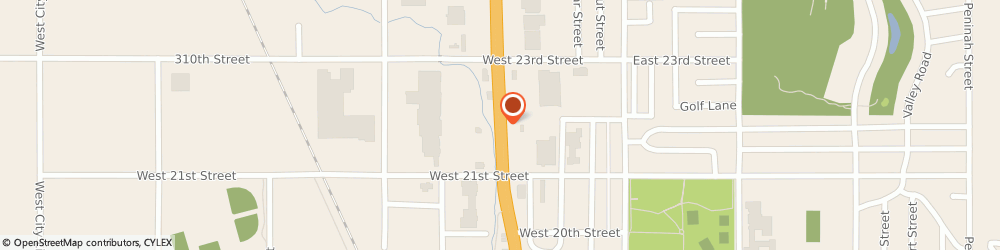Route/map/directions to American Express Financial Advisors Inc - Bruce Kniffen Cfp, 57078 Yankton, 2217 BROADWAY AVENUE
