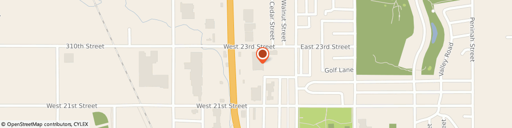 Route/map/directions to Navy Federal Credit Union, 57078 Yankton, 2210 Broadway Ave