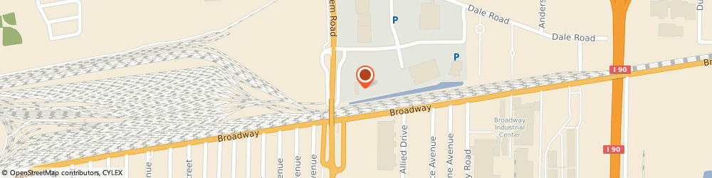 Route/map/directions to Firestone Complete Auto Care, 14225 Cheektowaga, 500 Thruway Plaza Dr