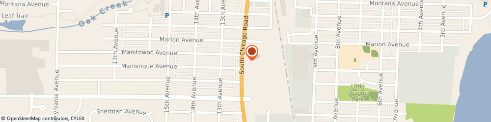Route/map/directions to Citibank ATM, 53172 South Milwaukee, 2815 S Chicago Ave
