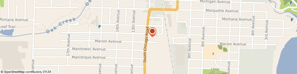 Route/map/directions to Paschke Insurance Svc, 53172 South Milwaukee, 2605 S Chicago Ave