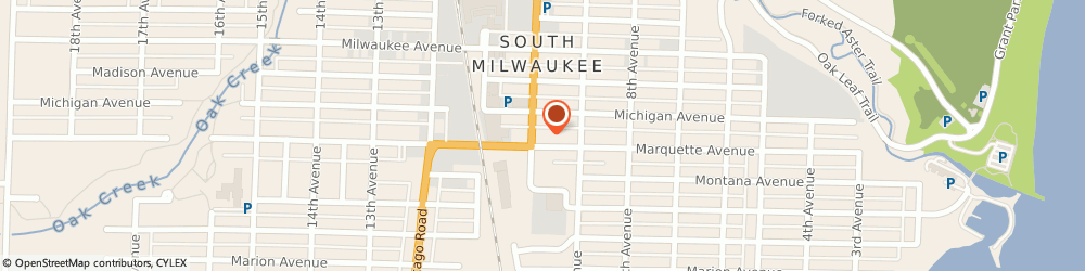 Route/map/directions to Procter Insurance Agency, Inc., 53172 South Milwaukee, 2315 10th Ave