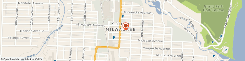 Route/map/directions to American Family Insurance, 53172 South Milwaukee, 2115 10TH AVENUE # 101