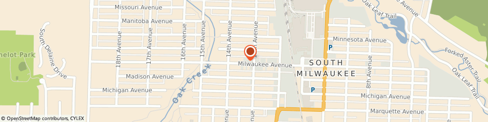 Route/map/directions to American Family Insurance, 53172 Milwaukee, 1310 Milwaukee Ave