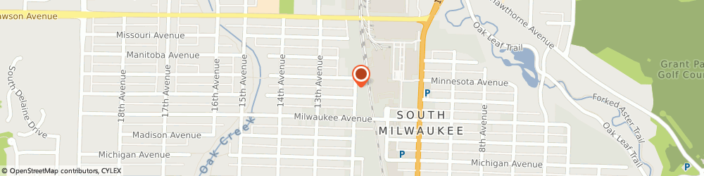 Route/map/directions to Procter-Schumacher Agency, 53172 South Milwaukee, PO BOX 425