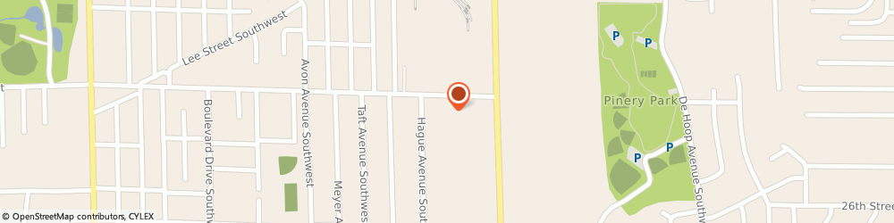 Route/map/directions to Waste Management, Inc., 49509 Grand Rapids, 1668 PORTER ST.,