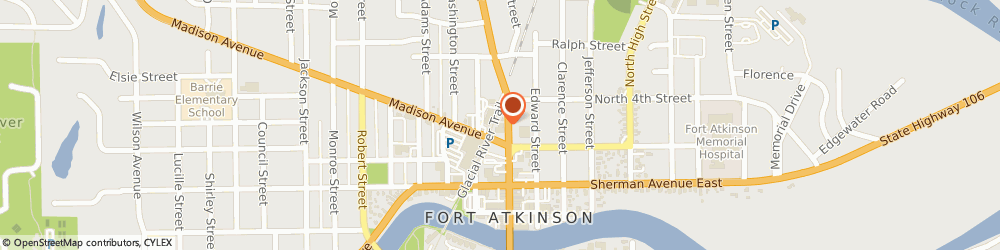 Route/map/directions to Insurance Marketing Group, 53538 Fort Atkinson, 311 N Main St
