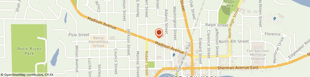 Route/map/directions to Professional Services Group, 53538 Fort Atkinson, 404 Madison Ave