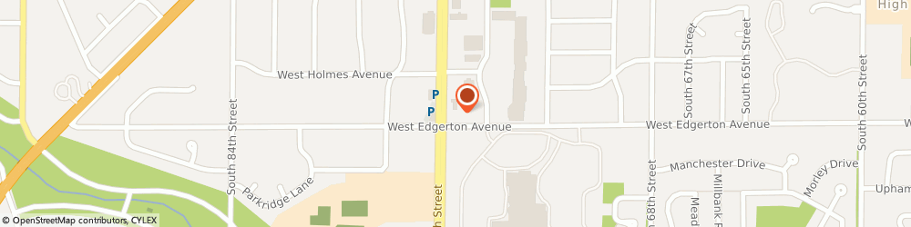 Route/map/directions to Men's Wearhouse, 53220 Greenfield, 5090 S 76th St