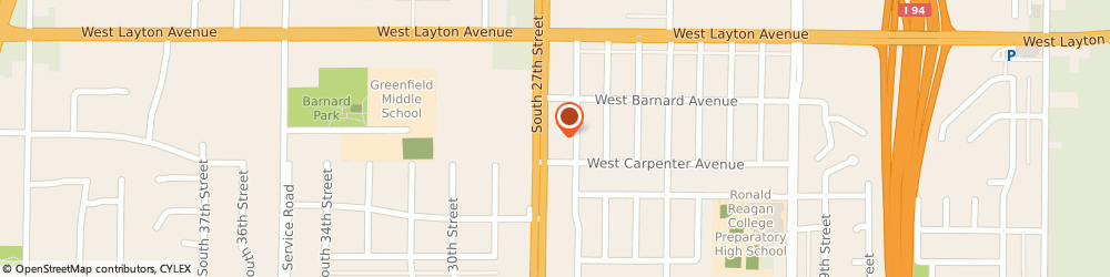 Route/map/directions to 27th Street KinderCare, 53221 Milwaukee, 4854 S 27th St