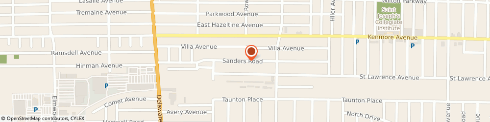 Route/map/directions to Ywca Of Western New York, 14216 Buffalo, 203 SANDERS ROAD