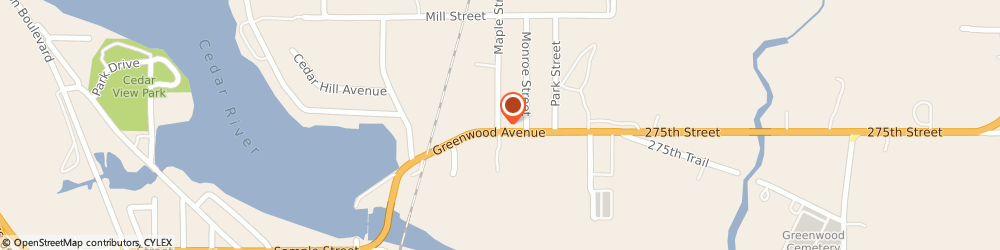 Route/map/directions to Citibank ATM, 50658 Nashua, 201 Greenwood